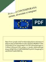 Europa Si Valorile Democratiei