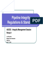 2016 AUCSC PIM - Period 1 - Pipeline Integrity Regulations & Standards - LReynolds