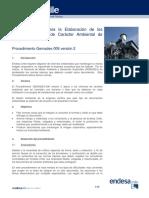 Normas Básicas Para La Elaboración de Los Informes Técnicos de Carácter Ambiental de Endesa Chile