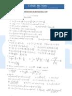 Ejercicios de repaso matemáticas de 3º-parte 2