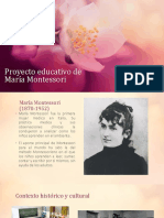 Proyecto Educativo De Maria Montessori