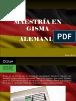 Maestría en GISMA, Alemania.ppt