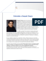 Entrevista a Deepak Chopra