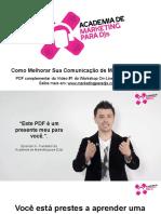 Amd - Como Melhorar Sua Comunicacao-De Marketing Hoje-out2016