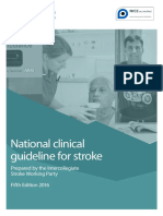 National Clinical Guideline for Stroke 5th Edition 2016