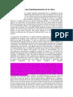 González, Antonio, discípulo de Dussel, El desafío de una fundamentación de la ética (crítica a la ética del discurso).doc