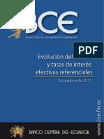 Evolucion Tasa Interes - Credito