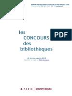 Guide des concours des bibliothèques