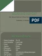 Morning Report Difteri