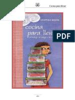 Cocina Para Llevar Al Trabajo, al Colegio o de Excursión - Cristina Macia.pdf