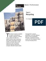 Recycle Lesso Plan Kala