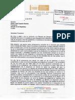 Viviane Morales oficializó su renuncia como congresista para aspirar a la Presidencia.