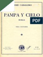 Caballero Pampa y Cielo