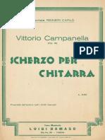 Campanella Scherzo Op 19