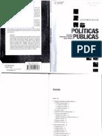 SECCHI. Políticas Públicas - Conceitos, Esquemas de Análise, Casos Práticos