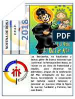 Novena a Don Bosco - 2018