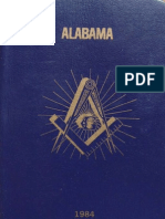 Masonic Rituals of the Grand Lodge of Alabama