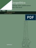 Catalogo Geopolitica