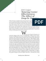 Tutoring Center Effectiveness