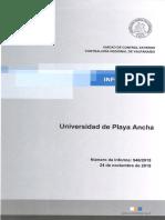 Informe Final 946-15 Universidad de Playa Ancha Sobre Auditoría Al Fondo Solidario de Crédito Universitario - Noviembre 2015