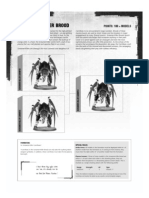m2440061 Tyranid Datasheet - Screamer Killer Brood
