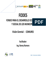 3.2 Manejo Del Fodes Visin Gremial Comures