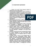 1. Management Si Comportament Organizational