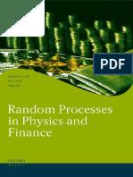 (Oxford Finance Series) Melvin Lax, Wei Cai, Min Xu-Random Processes in Physics and Finance-Oxford University Press, USA (2006)