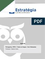 Tribunal Regional Federal Da 4a Regiao 2014 Portugues Aula 03
