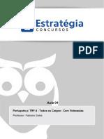 Tribunal Regional Federal Da 4a Regiao 2014 Portugues Aula 04