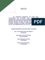 Lei+Orgânica+Municipal+Consolidada+com+as+Emendas
