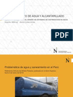 ABASTECIMIENTO DE AGUA Y ALCANTARILLADO