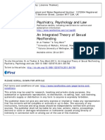 Thakker, Ward - 2012 - An Integrated Theory of Sexual Reoffending