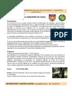 Curso Iniciacion Arqueria de Caza 2017