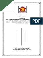 Cover Proposal Tim Saksi Pilkada Inhil