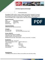 D-100 Hoja de Datos Tecnicos