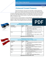 NATO Forward Presence Battlegroup Factsheet Efp