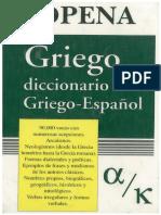 Diccionario Sopena (I) Griego - Español. Sopena.pdf.pdf