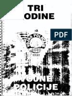 UZP Herceg Bosna - 3. Godine Vojne Policije HRHB