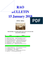Bulletin 180115 (HTML Edition)