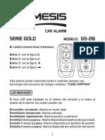 Nemesis Goldseries Userguide Gs-216