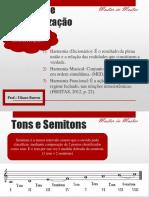 Harmonia e Rearmonização - aula 1 ANIMAÇÃO