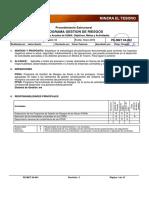 PE-MET 04-001 Procedimiento Estructural Para PGR