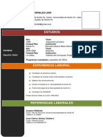 Curriculum Vitae Juan Carlos