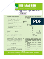 UPSC ESE 2017 Prelims Answer Key by IES Masters - CE