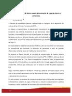 Criterios del Banco de México para la determinación de tasas de interés y comisiones