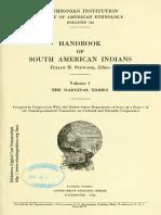 HandBook SouthAmerican Indians