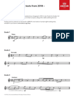 Sight-reading Sampler 2018 Flute