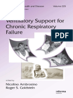 Ventilatory Support for Chronic Respiratory Failure