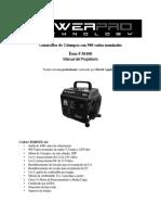 Manual Generador GE1000 -Traducción-traduccion